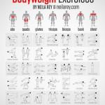 42 ท่าออกกำลังกายไม่มีอุปกรณ์ ฉบับสมบูรณ์ ในรูปแบบ infographic