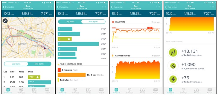 http://www.dcrainmaker.com/2015/01/fitbit-surge-depth-review.html#continuous-24x7-heart-rate-monitoring
