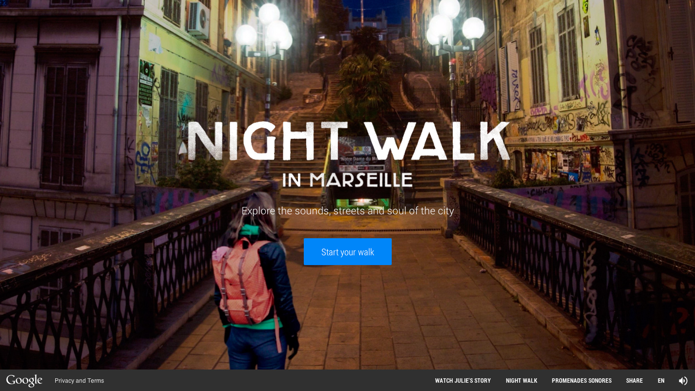http://www.awwwards.com/web-design-awards/google-nightwalk-in-marseille